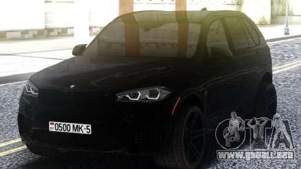 BMW X5M Black Offroad para GTA San Andreas