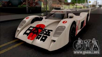 Toyota GT-One Kosuke Matsuura para GTA San Andreas