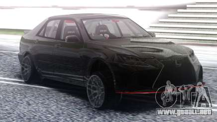 Lexus IS300 Drift Black para GTA San Andreas
