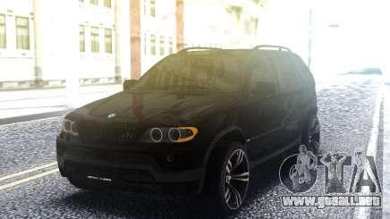 BMW X5 4 8is para GTA San Andreas