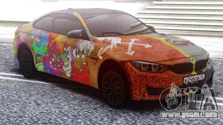 BMW M4 Two face para GTA San Andreas