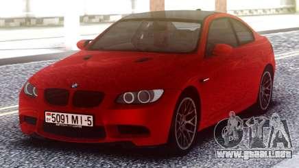 BMW M3 Original Red para GTA San Andreas