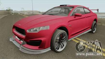 Obey 8F Drafter GTA V IVF para GTA San Andreas