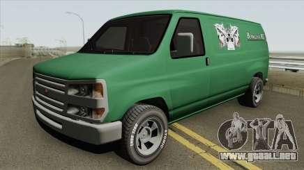 Bravado Rumpo GTA V HQ para GTA San Andreas