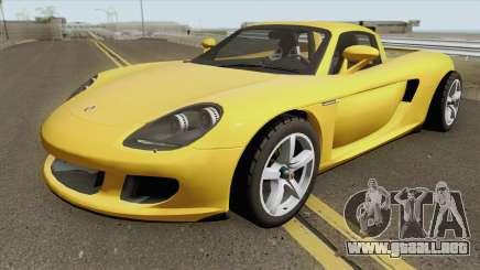 Porsche Carrera GT 2006 para GTA San Andreas