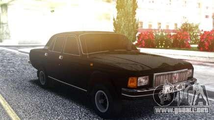 Volga 3102 Negro para GTA San Andreas