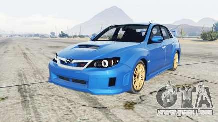 Subaru Impreza WRX STI (GE) 2011 para GTA 5