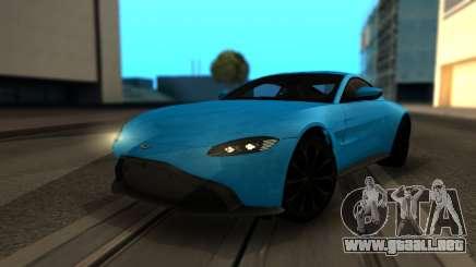 Aston Martin Vantage 2018 para GTA San Andreas