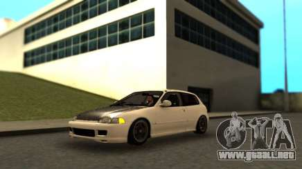 Honda Civic SiR-II para GTA San Andreas