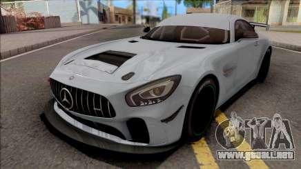 Mercedes-AMG GT4 2018 para GTA San Andreas