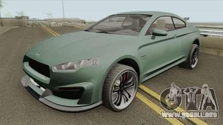 Obey 8F Drafter GTA V (Stock) para GTA San Andreas