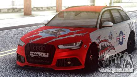 Audi RS 6 Beaten but not broken para GTA San Andreas