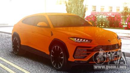 Lamborghini Urus Orange para GTA San Andreas