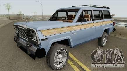 Jeep Wagoneer para GTA San Andreas