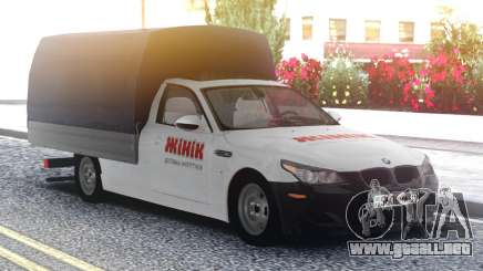 BMW M5 E60 Van para GTA San Andreas