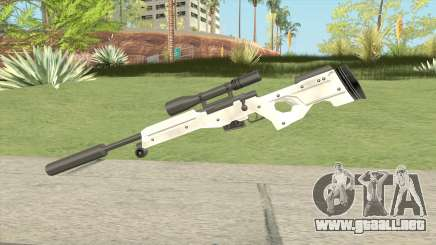 Winter Covert Sniper Rifle (007 Nightfire) para GTA San Andreas
