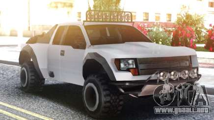 Ford F150 Raptor White para GTA San Andreas