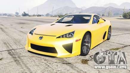 Lexus LFA 2010 para GTA 5