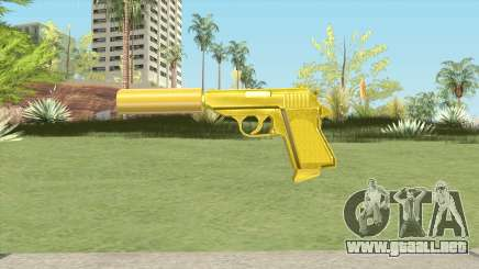 Wolfram PP7 Gold Silenced (007 Nightfire) para GTA San Andreas