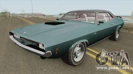 Bravado Gauntlet GTA V Driver Edition IVF para GTA San Andreas