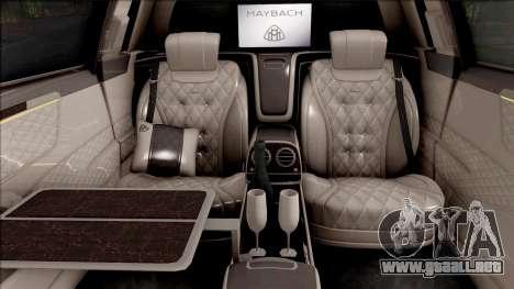 Mercedes-Maybach S650 Pullman 2019 para GTA San Andreas