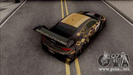 Bentley Continental GT3 2018 para GTA San Andreas