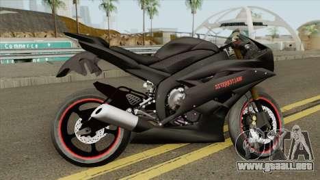 Yamaha R6 Custom 2008 para GTA San Andreas