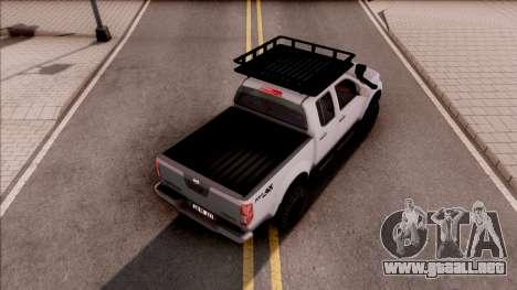 Nissan Frontier 4x4 SUV para GTA San Andreas