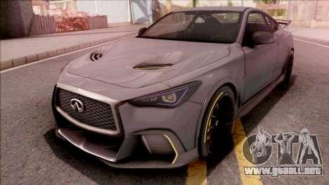 Infiniti Q60 Project Black S 2018 para GTA San Andreas