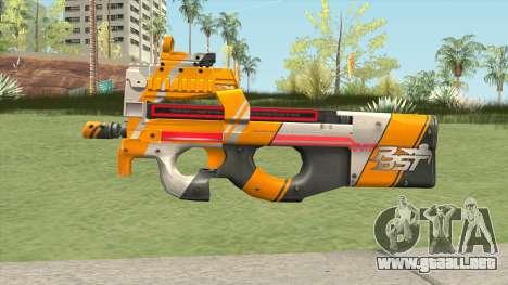 P90 (PBST Series) From Point Blank para GTA San Andreas