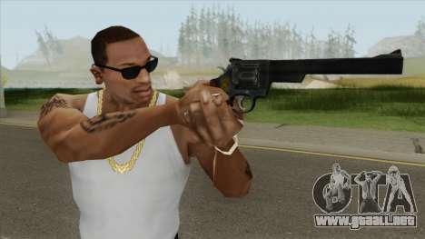 Smith And Wesson M29 Revolver (Black) para GTA San Andreas
