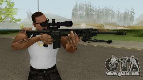 KAC SR-25 Semi Automatic Sniper Rifle para GTA San Andreas