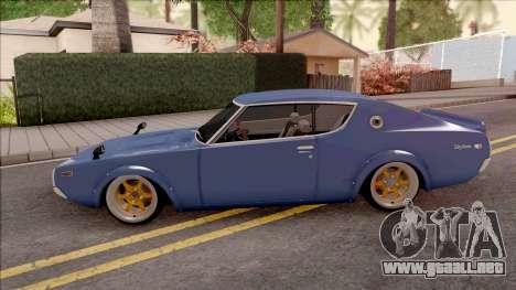 Nissan Skyline GT-R KPGC110 para GTA San Andreas