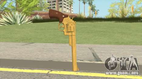 Smith And Wesson M29 Revolver (Gold) para GTA San Andreas