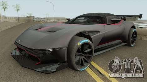 Aston Martin Vulcan HQ 2016 para GTA San Andreas