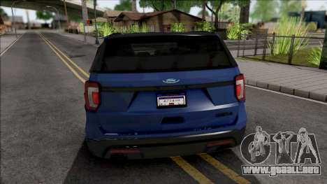 Ford Explorer 2020 para GTA San Andreas