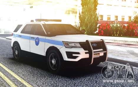 Ford Explorer Miami Style para GTA San Andreas