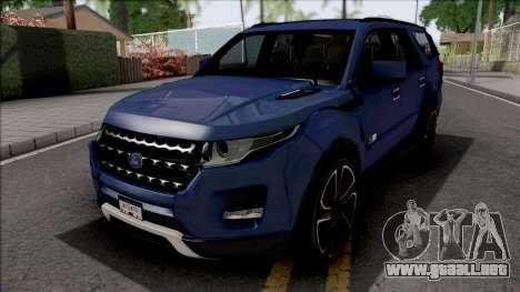 Ford Explorer 2020 para GTA San Andreas