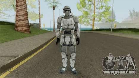 Snow Combat Armor (Fallout 3) para GTA San Andreas