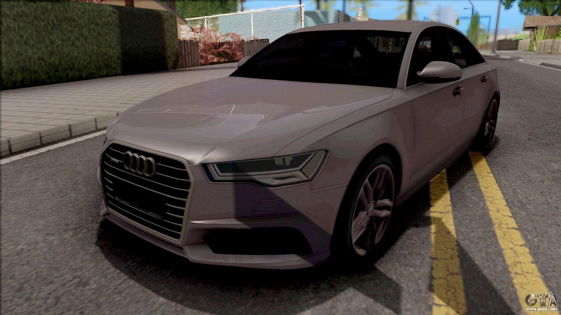 Audi A6 C7 2017 Para Gta San Andreas