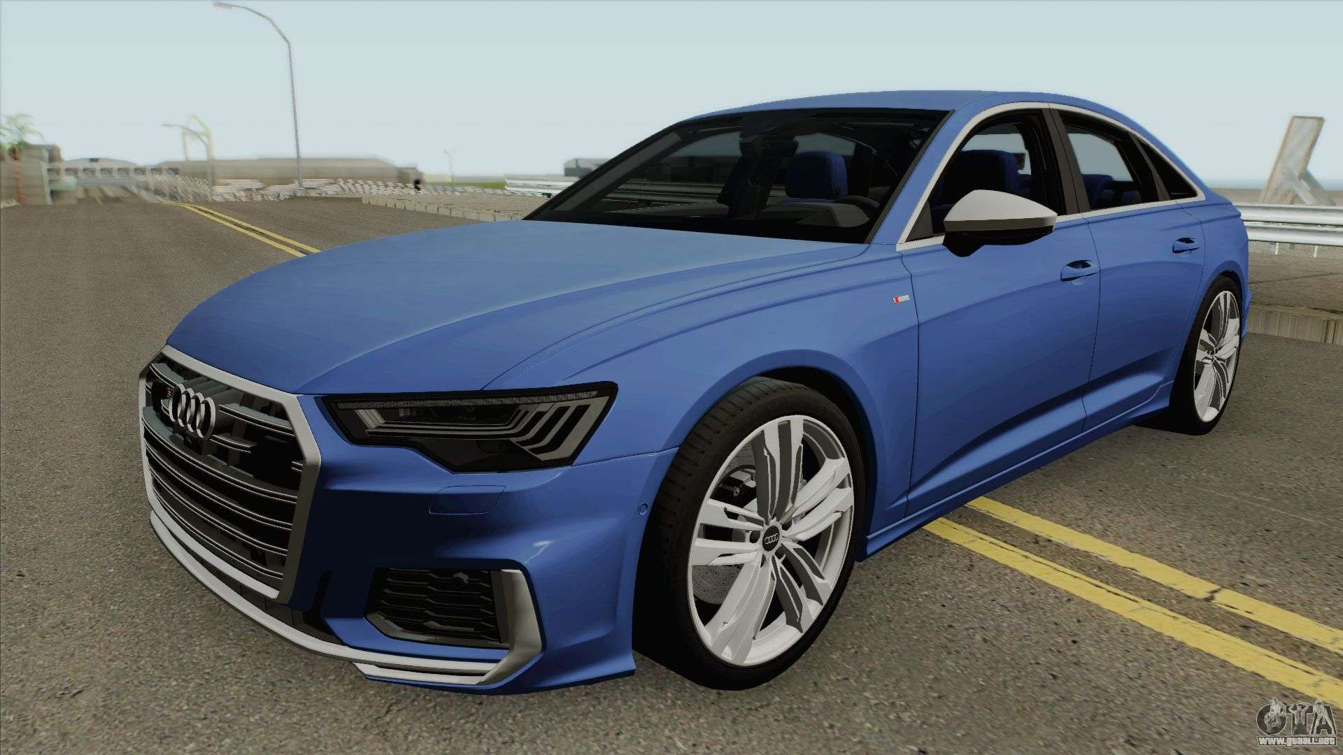 Audi S6 C8 2019 Para GTA San Andreas