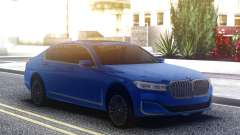 BMW 750Li Blue Original para GTA San Andreas