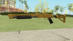Shrewsbury Pump Shotgun (Luxury Finish) GTA V V4 para GTA San Andreas