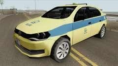 Volkswagen Voyage G6 Taxi Rio De Janeiro para GTA San Andreas