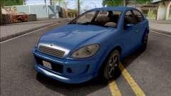 GTA V Declasse Premier para GTA San Andreas