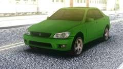 Lexus IS300 Green para GTA San Andreas