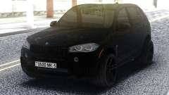 BMW X5M All Black para GTA San Andreas