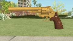 Smith And Wesson M29 Revolver (Gold)