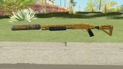 Shrewsbury Pump Shotgun (Luxury Finish) GTA V V6 para GTA San Andreas