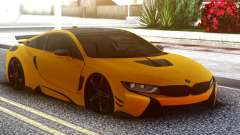 BMW I8 Yellow para GTA San Andreas